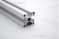 Алюминиевый конструкционный профиль сечением 30x30 анодированный
