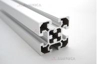 Алюминиевый конструкционный профиль сечением 50х50 анодированный