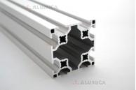 Алюминиевый конструкционный профиль 60х60 8 пазов   анодированный